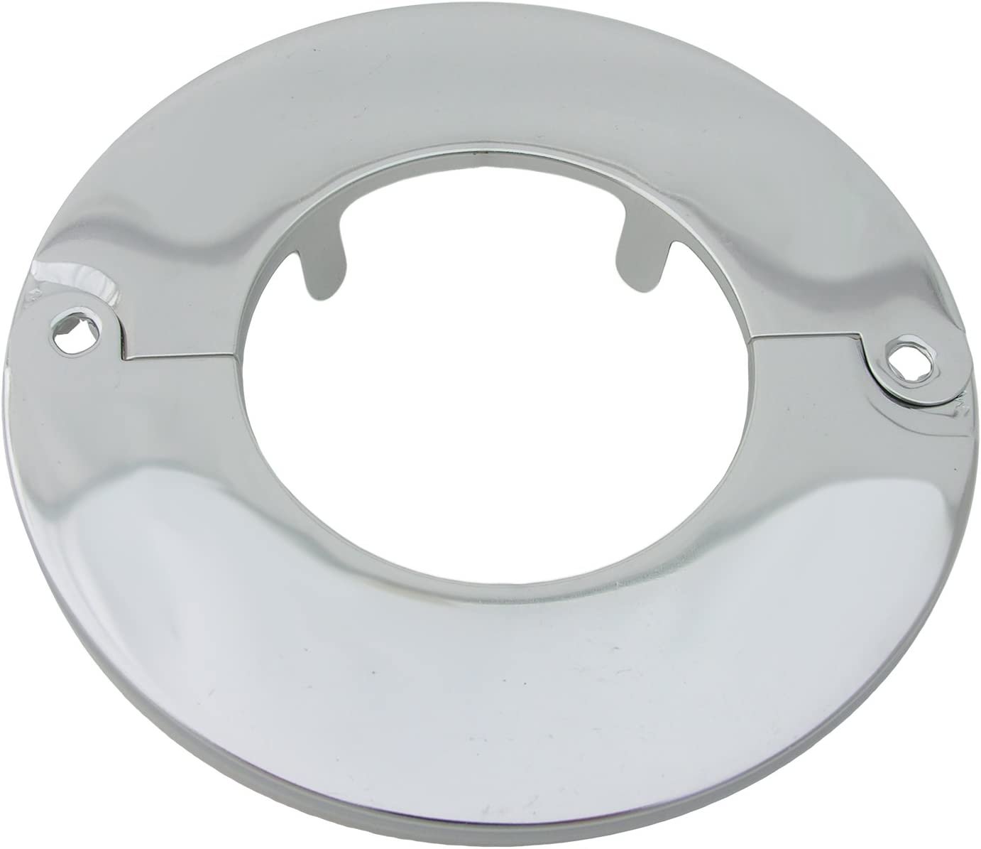 LASCO 03-1563 Chrome Plated Floor and Ceiling Split Flange Fits 2-Inch Iron Pipe