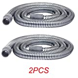 Huapa CPAP Tubing Hose,2PCS CPAP Tubing Hose(19mmx1.8m)- Replacement for The ResMed S9 CPAP,Lightweight & Flexible Universal Tubing for CPAP