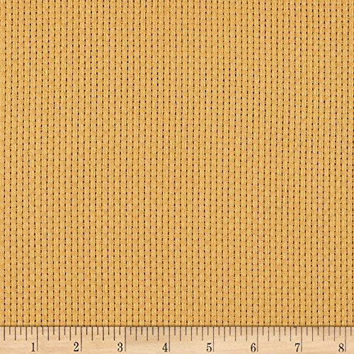 BurlapFabric.com 60in Monk's Cloth Gold Fabric By The Yard]()