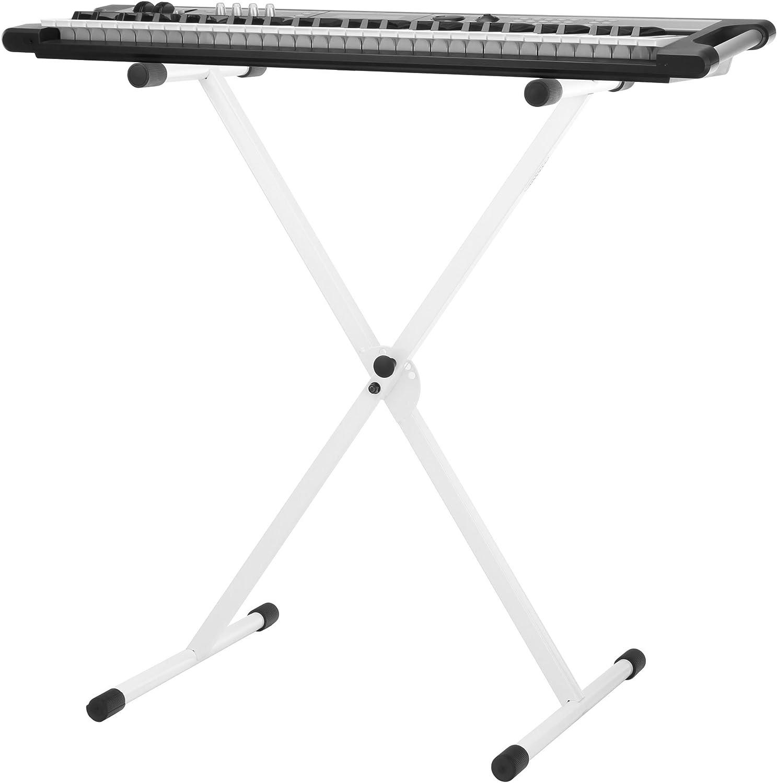 Classic Cantabile X-soporte Keyboard (teclado) regulable en altura blanco