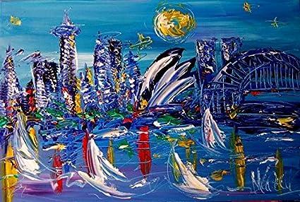 Amazon Com Large Pop Art Original Painting Artwork