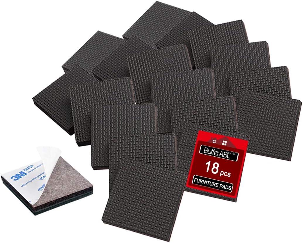 color negro resistente Alfombra antideslizante de goma para cubrir el suelo varios tama/ños