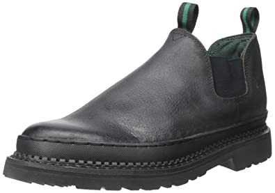 Georgia Boot Men's Georgia Gr270 Giant Romeo Work Shoe Black, ...