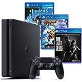 Console PS4 500GB Hits Bundle + 3 Jogos+Controle DualShock 4 (NACIONAL)