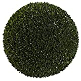 Nearly Natural Boxwood Indoor/Outdoor Ball, 19''