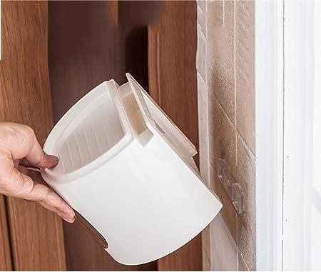 R&Y Cinta de Papel higiénico multifunción Redonda de plástico para tocador estanca al Agua Rollo de Papel en Rollo sin Troquel Porta Toallas Caja de pañuelos: Amazon.es: Hogar