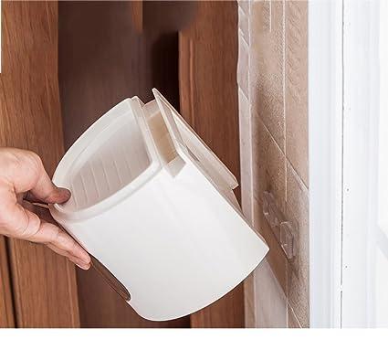 R&Y Cinta de Papel higiénico multifunción Redonda de plástico para tocador estanca al Agua Rollo de