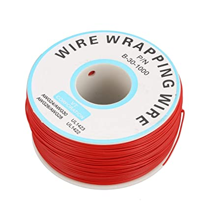 Footprintse 250m 30awg Cable de cobre de un solo núcleo Ok Línea Circuito Línea de vuelo