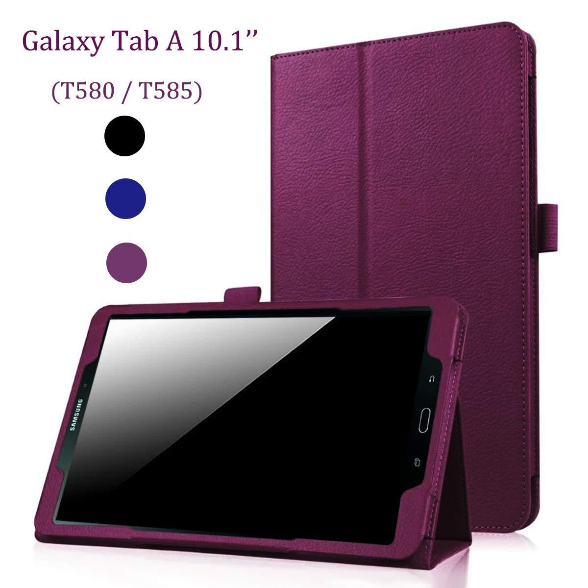 [宅送] EAGKORD PUレザー Samsung B07LCJHRB2 Galaxy Tab A 10.1ケース PUレザー EAGKORD スマートフォリオスタンドケースカバー Galaxy Tab A 10.1インチT580に対応 パープル USEAKT580PR003 パープル B07LCJHRB2, 湯布院町:5dbe4b36 --- a0267596.xsph.ru