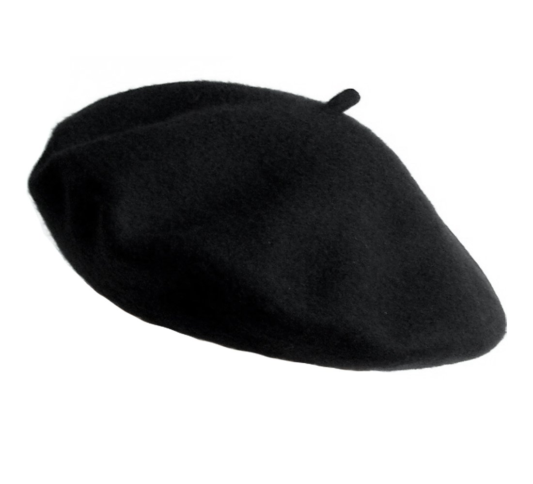 True Wool Beret, BLACK boxed-gifts