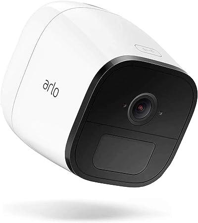 Vodafone V Camera Arlo Go By Netgear Überwachungskamera Mit Der V Sim Wireless 4g Außerhalb Von Wlan Bereichen Einsetzbar Weiß Inkl 3 Monate Servicegebühr Gratis Baumarkt