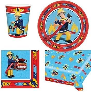 Amazon.com: Fireman Sam Vajilla Fiesta Pack: Toys & Games