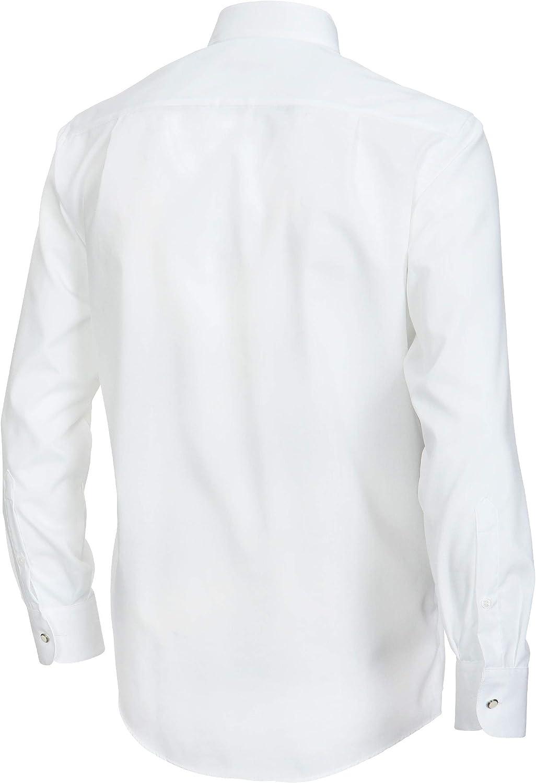 Casamoda - Camisa con cuello ópera de manga larga para hombre ...