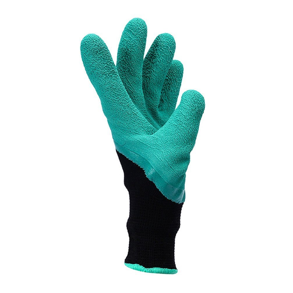 Meanch Garden Gloves with Fingertips Right Claws Quick Gardening Tool Laborer Gloves Right
