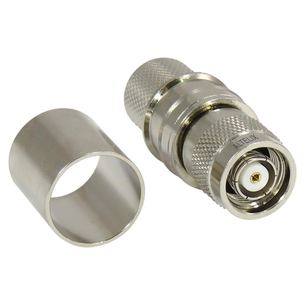 altelix RP-TNC macho enchufe EZ sin soldadura Crimp conector para cable lmr-600 cc600crtm-ez: Amazon.es: Electrónica