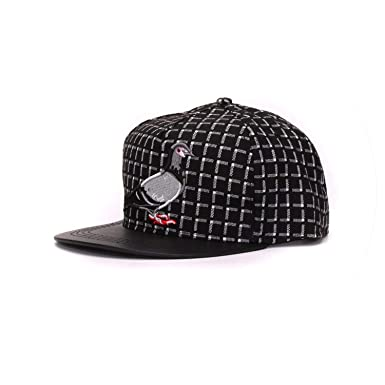 3D Pigeon Hip hop Baseball caps Outdoor Sport Hats Gorras Adjustable Casual Flat Brim Cap,