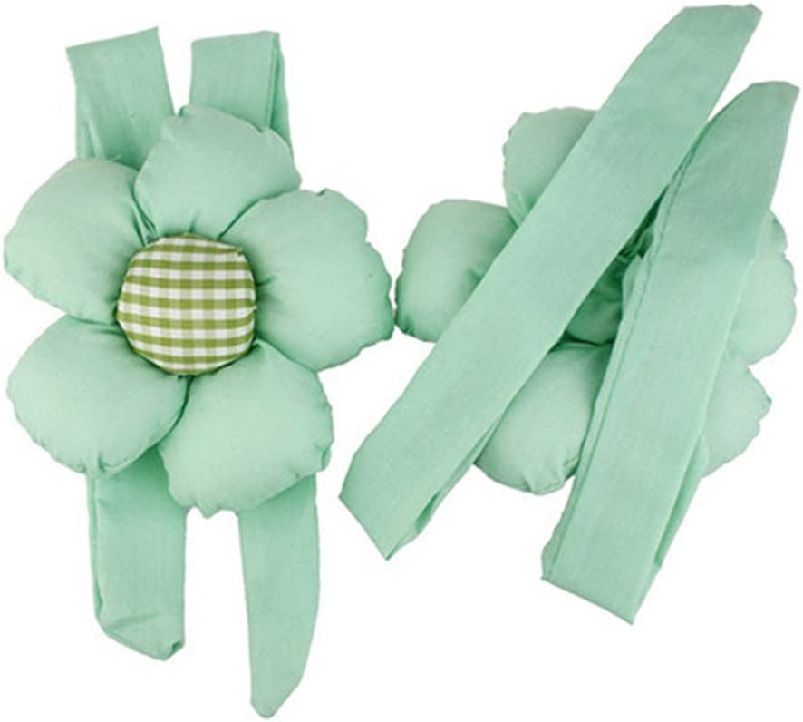 YOSEMITE 1Pair Flower Window Curtain Tiebacks Holder Fastener Girl Bedroom Home Decor