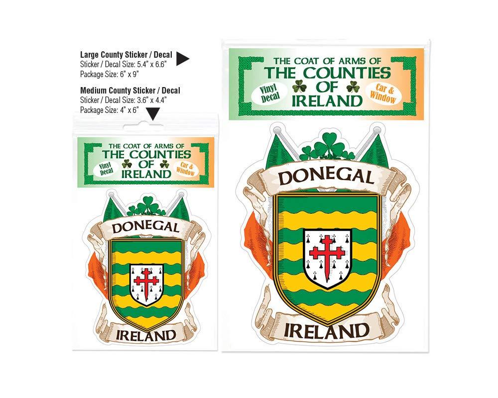 Amazon com donegal county ireland irish car bumper sticker decal automotive