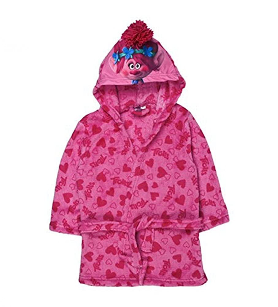 HPrice Trolls 'Poppy' Dressing Gown 8-9 Years