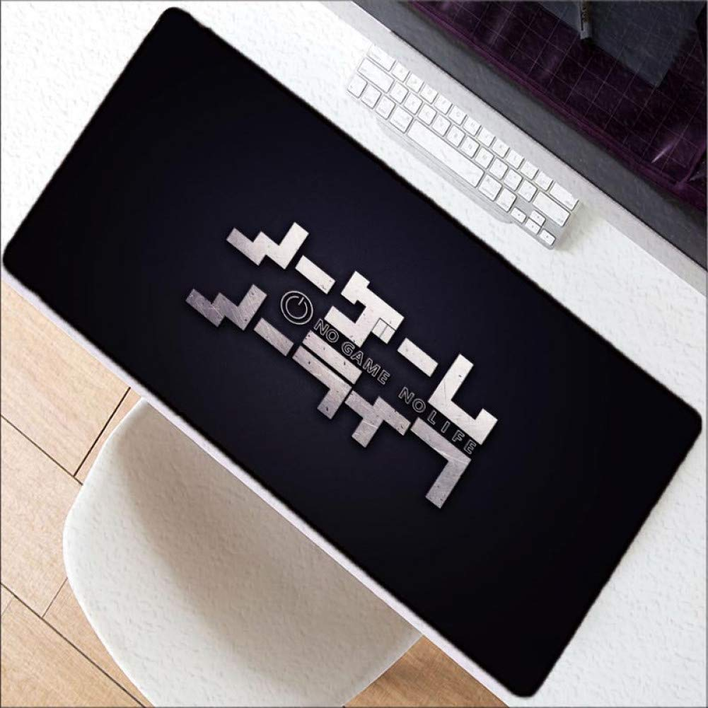 WHFDSBDLarge Mouse Pad Gaming Mousepad Anti-Slip Natural Rubber Gaming Mouse Mat