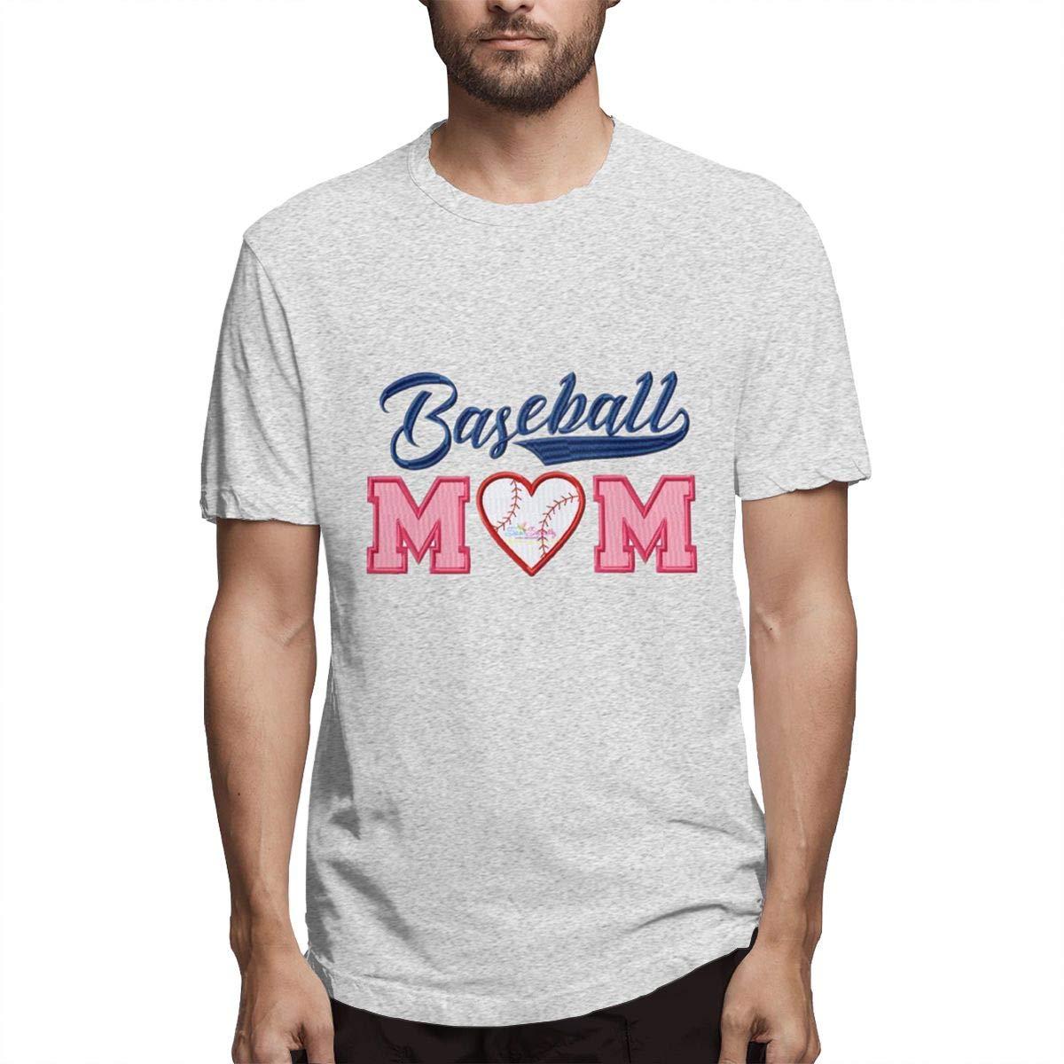 Nutmix S Baseball Mom Leisure Tees Shirts