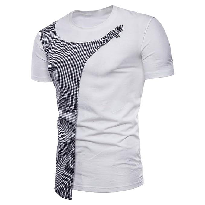 ❤Venmo Camisetas de Manga Corta Hombre Originales,Verano Camisetas Hombres Casual Camisetas Deportes Ropa