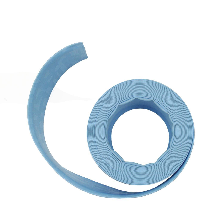 Light Blue Swimming Pool Filter Backwash Hose - 200' x 1.5''