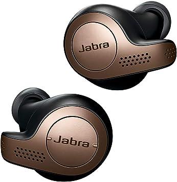 Oferta amazon: Jabra Elite 65t – Auriculares Bluetooth 5.0, con Cancelación Pasiva del Ruido, Tecnología de Cuatro Micrófonos para Auténticas Llamadas Inalámbricas y Música, Negro Cobre