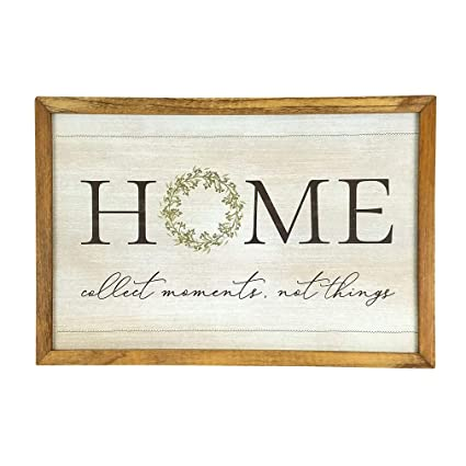 Imprints Plus Inspirational Wood Sign Rustic Wall Décor Plaque With Sawtooth Hanger Nail And Instruction Card Home Wreath 12 X 18 148 00023