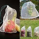 """YGDZ Fruit Netting Bags, 25pcs 12""""x8"""" Fruit Protect"""