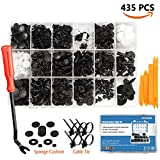 Automotive : EZYKOO 435 Pcs Car Retainer Clips & Plastic Fasteners Kit - 19 MOST Popular Sizes Auto Push Pin Rivets Set -Door Trim Panel Clips For GM Ford Toyota Honda Chrysler