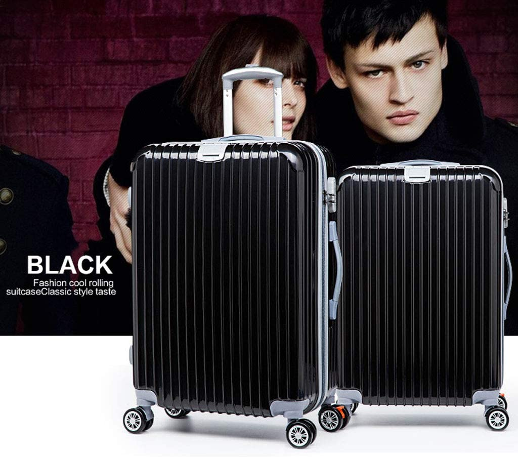 Multi-Function Stealth Hook Z-Trolley case Mesurn Business Suitcase Strong Load-Bearing Capacity Thick Alloy Rod 22//26 Inch Universal Wheel Password Suitcase
