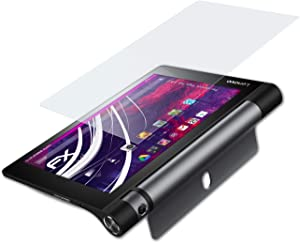 atFoliX Plastic Glass Protective Film Compatible with Lenovo Yoga Tab 3 8.0 Glass Protector, 9H Hybrid-Glass FX Glass Screen Protector of Plastic