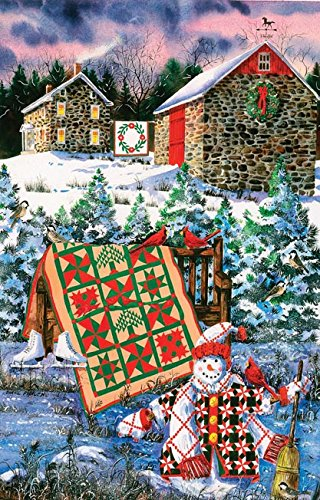 A Christmas Cheer Quilt 1000 Piece Jigsaw Puzzle by SunsOut
