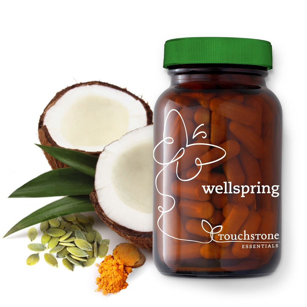 Wellspring Vegan Essential Oils and Antioxidants by Touchstone Essentials, Joints and Heart, Non-GMO, 60 capsules