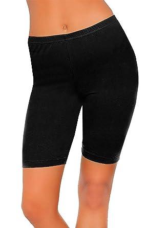 62f48cb7c4cf7 Islander Fashions Womens Comfortable Short Legging Ladies Fancy Sports Gym  Fitness 1/2 Legging UK 8-22: Amazon.co.uk: Clothing