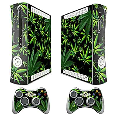 Amazon.com: XBOX 360 Console weeds Design Decal Skin ... Xbox 360 Console Skins