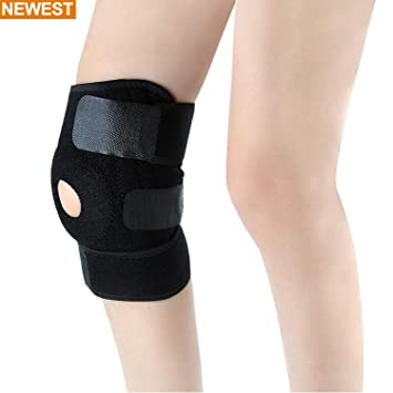 4f19d9ec5a Sourcingbay Pro Knee Brace Support, Comfortable Neoprene Knee Support  Spring Stabilizers Patella Protector to Relieve