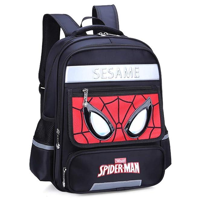 Mochila Escolar Para Niños Mochilas Para Adolescentes Spider-Man Para Niños Y Niñas Mochilas Escolares: Amazon.es: Ropa y accesorios