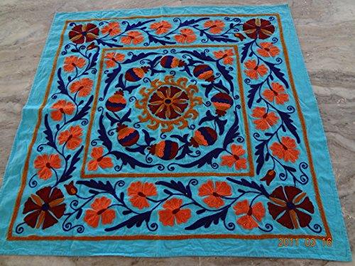 handicraftofpinkcity Suzani ricamato Tapestry Suzani ricamato Wall Hanging Suzani ricamato Runner 111, 8x 111, 8cm Tapestry copriletto ssth05 SSTHMANTAP1975