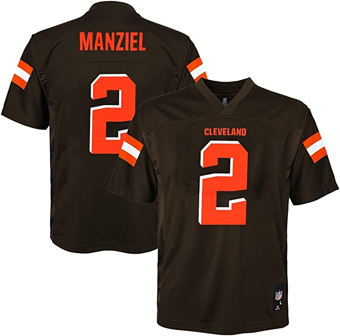 Details about NFL Cleveland Browns Johnny Manziel Nike On Field Youth Jersey Size Medium