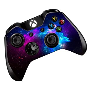 Galaxy Nebula Skin Vinyl Decal for Xbox One | One S Controller | Skins Stickers Cover | Colorful Outer Space Galaxy