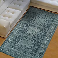 Superior Area Rug 2 x 3 10mm Pile Height with Jute Backing, Woven Fashionable and Affordable Tatum Collection, Grey