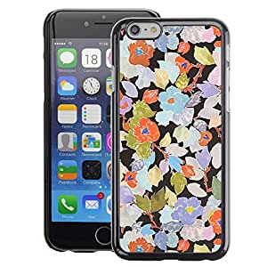 Planetar® ( Rustic Wallpaper Floral Art ) Apple iPhone 6 / 6S (4.7 inches!!!) Fundas Cover Cubre Hard Case Cover
