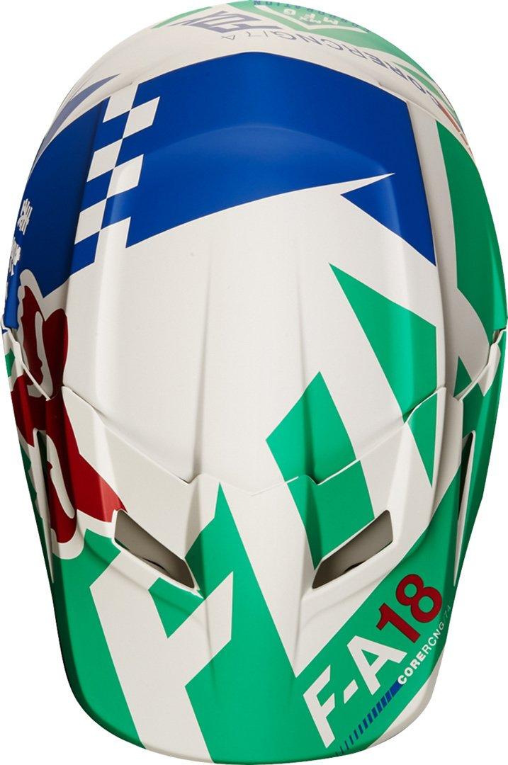 ECE Green Fox Helmet V-1 Sayak