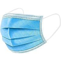 Ni_ka 20 piezas azules desechables, antipolvo transpirable industrial Copa de salud faciales