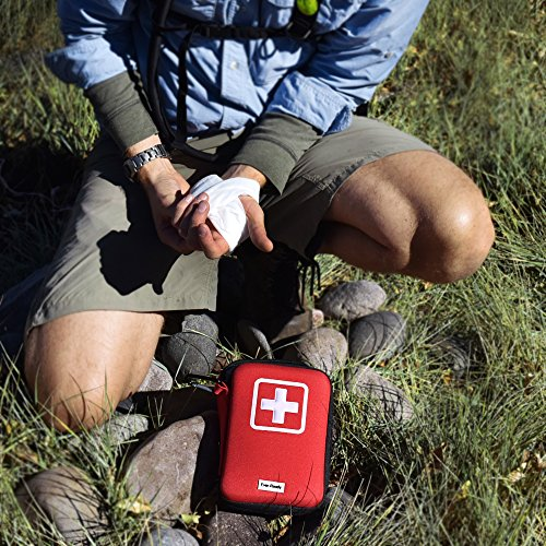 Be Safe with Ever-Ready First Aid Kit and Let Your Wanderlust Roam Free- Reliable, Fully Stocked Medical Emergency Kit- 139 Unique Pieces, Prepares You For Any Minor Emergency.