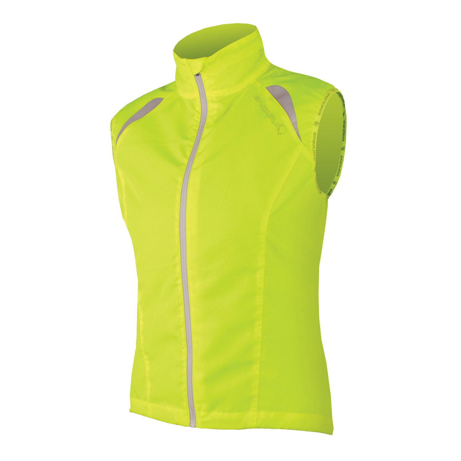 Endura Womens Gridlock Cycling Gilet Hi Vis Yellow, Large