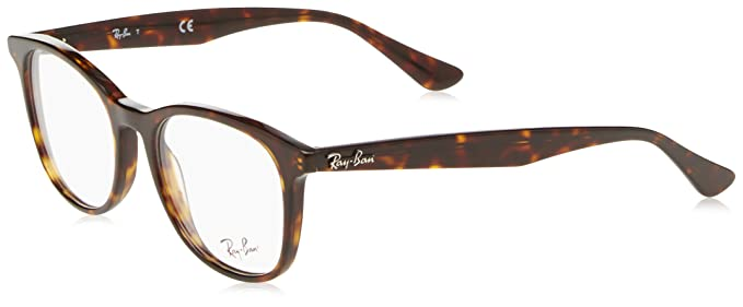 e0a3ec2507 Image Unavailable. Image not available for. Color  Ray-Ban Unisex RX5356  Eyeglasses Shiny Havana 54mm
