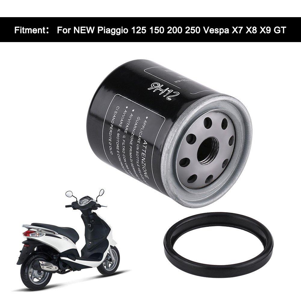 Filtro de aceite de alto rendimiento para Pia-ggio 125 150 200 250 Ves-pa X7 X8 X9 GT